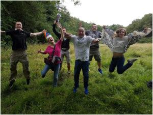 team building sur lyon : vivre en équipe