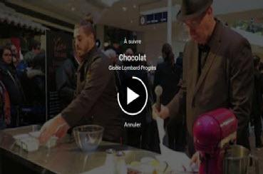 Record de chocolat battu à Confluence !
