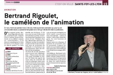 article Bertrand Rigoulet, le Caméléon de l'animation