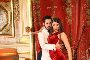 Maître de cérémonie pour le Grand Gala de Tango à l'Hôtel de Ville de LYON organisée par l'Association de Handi-TANGO